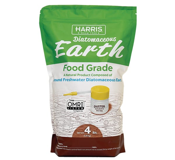 Harris® Diatomaceous Earth Food Grade - Duster Included