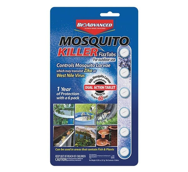BioAdvanced® Mosquito Killer FizzTabs