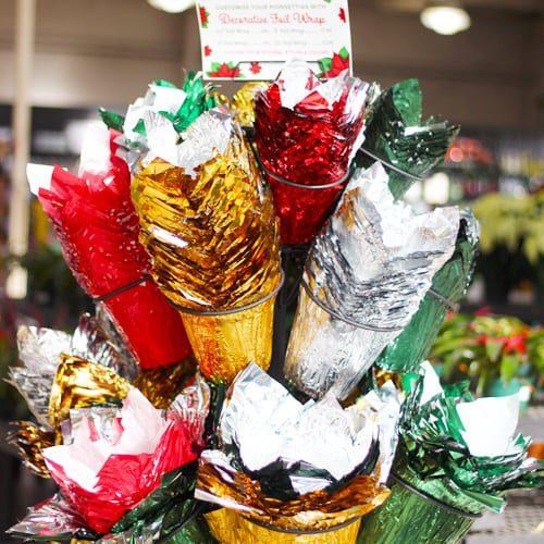 decorative foil wrap