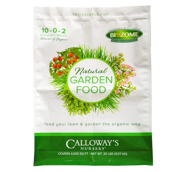 Calloway's Natural Garden Food